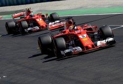 Trabajado doblete de Ferrari sobre los impotentes Mercedes