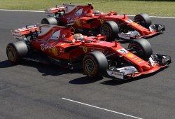 "Doblete de Ferrari con un Vettel desatado: ""Salí al máximo"""