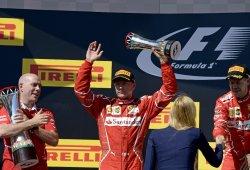 Räikkönen considera justa su segunda plaza tras el fallo en la clasificación