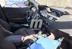 BMW X2 2018: nos asomamos por primera vez a su interior