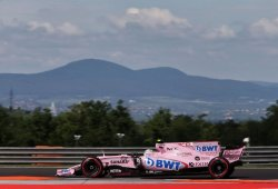 Ocon y Pérez se quedan fuera de la Q3 en Hungaroring