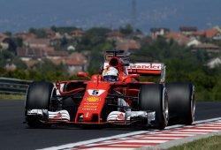 Vettel, pole en una clasificación perfecta para Ferrari
