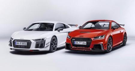 Audi Sport Performance Parts: accesorios y nuevos componentes para el TT y R8