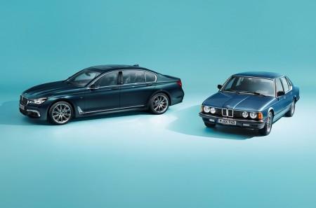 BMW Serie 7 Edition 40 Jahre: celebrando el 40 aniversario de la berlina alemana