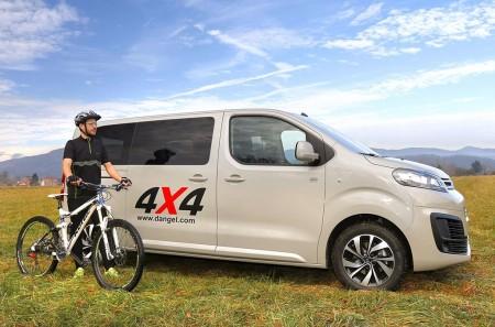 Citroën SpaceTourer 4x4 Dangel: para afrontar todo tipo de terrenos