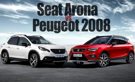 Comparamos al nuevo SEAT Arona con el líder del segmento, el Peugeot 2008
