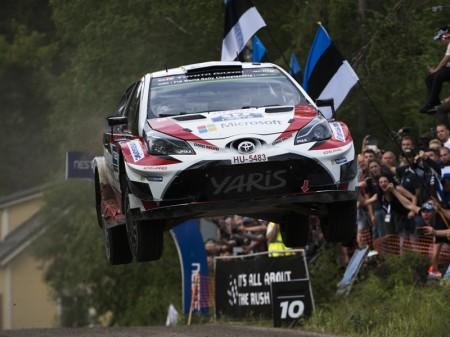 Esapekka Lappi se doctora en el Rally de Finlandia, su casa