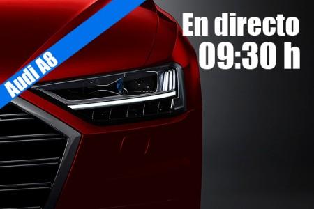 En directo: la presentación del nuevo Audi A8 2018 en Barcelona