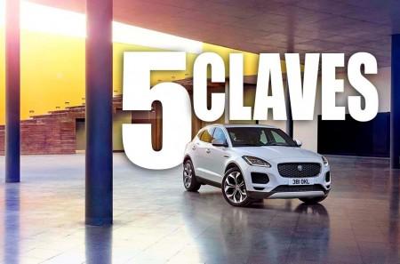 Las 5 claves del Jaguar E-Pace: un nuevo SUV compacto