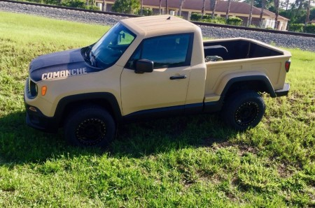 ¿Quieres un coche exclusivo? Échale un ojo a este Jeep Renegade pick-up