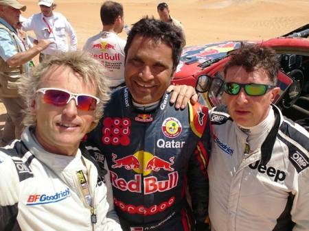 Jesús Calleja, rumbo al Dakar 2018 con ayuda de Al-Attiyah