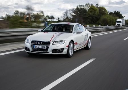 Los clientes de Audi experimentan la conducción autónoma en primera persona
