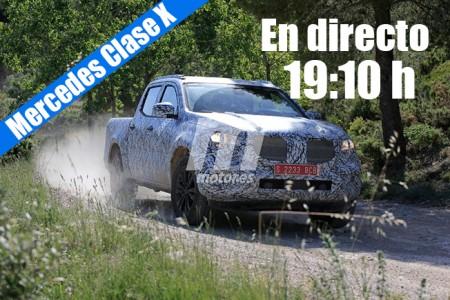 Sigue la presentación en directo del Mercedes Clase X con nosotros
