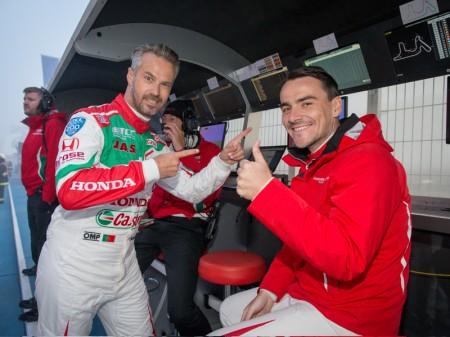 Michelisz gana, Monteiro se destaca al frente del WTCC