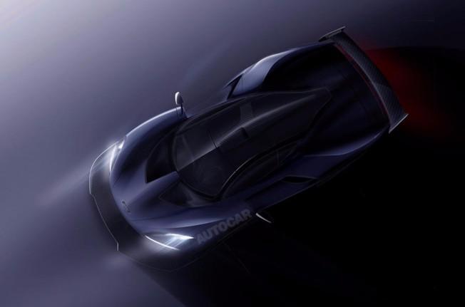 McLaren P15 2018 - recreación