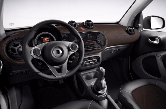 Smart ForTwo Coupé Perfect - interior