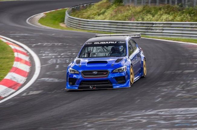Subaru WRX STI Type RA NBR Special - frontal
