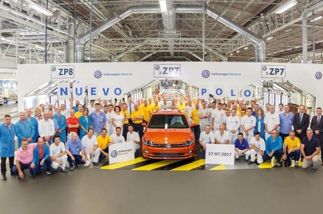 Volkswagen Polo 2018 - producción