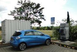 E-STOR, puntos de carga rápidos a base de baterías