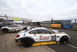 El BMW #99 de ROWE Racing causa baja en Hungría