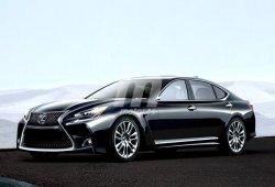 Lexus LS F: el rival japonés de los Clase S AMG en render