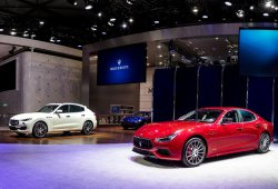 Maserati presenta la nueva gama Ghibli en China