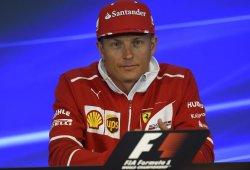 Räikkönen marca el ritmo en el regreso de la acción a la F1