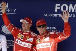 """Räikkönen: """"Vettel es el mejor compañero, espero que siga en Ferrari"""""""