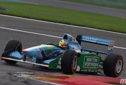 [Galería] Mick Schumacher homenajeó a su padre conduciendo el Benetton B194