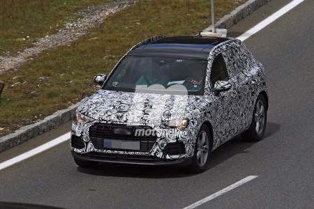 Audi Q3 2019: en más detalle en estas nuevas fotos espía