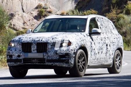 Nuevas fotos espía del BMW X5 xDrive40e 2018: la variante híbrida enchufable