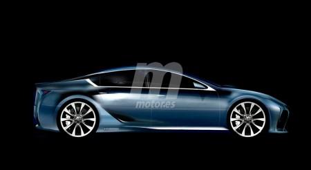 ¿Un Lexus GS reinventado como coupé de cuatro puertas?