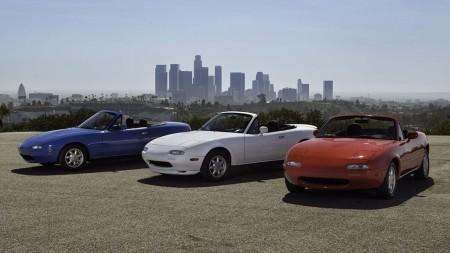 Mazda restaurará unidades del MX-5 NA en Japón