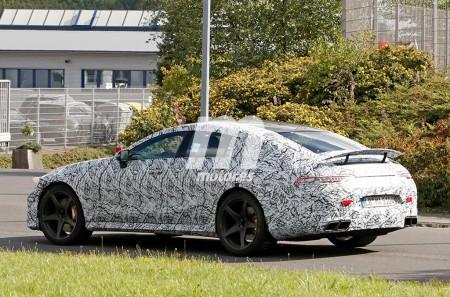 Mercedes-AMG GT4: ya nos muestra su alerón trasero definitivo