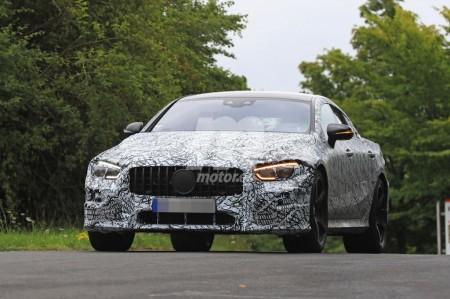 El nuevo Mercedes-AMG GT4 2019 al detalle durante sus pruebas