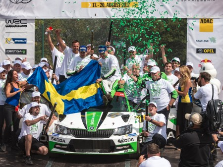 Pontus Tidemand y Skoda Motorsport reinan en WRC2
