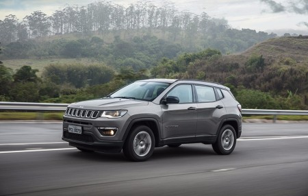 Brasil - Julio 2017: El Jeep Compass vuelve al Top 10