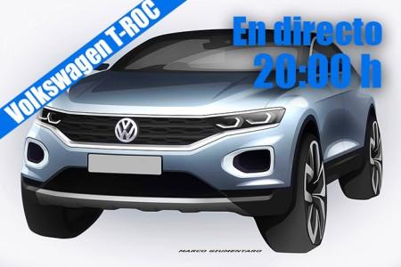 Sigue en directo la presentación del Volkswagen T-ROC 2018 con nosotros