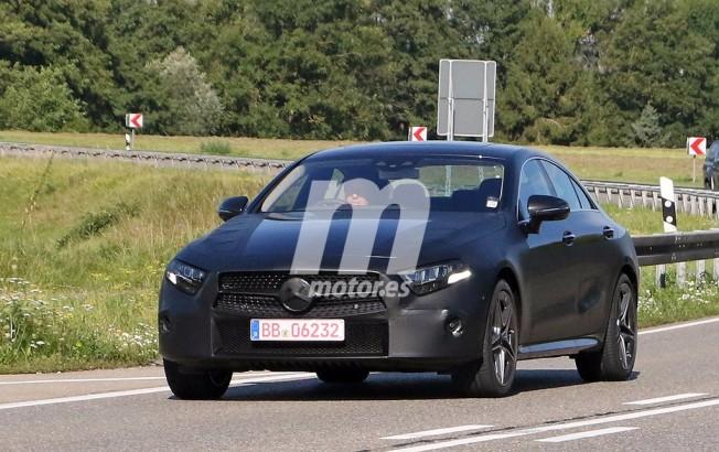 Mercedes Clase CLS 2018 - foto espía frontal