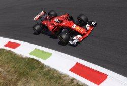 Ferrari sufre con baja carga aerodinámica en Monza
