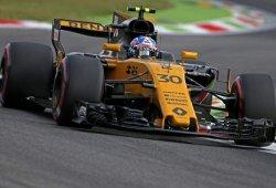 """Palmer contraataca y culpa a Alonso de su incidente: """"Me sacó de la pista"""""""