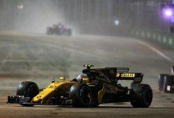 Palmer acaba sexto en su posible última carrera en Renault