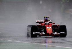 """Räikkönen: """"El neumático de lluvia no es el adecuado, no soporta un poco de agua"""""""