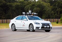 Toyota muestra sus avances en el campo de la conducción autónoma