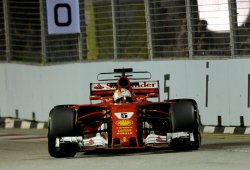 """Vettel: """"Mañana será una carrera larga y Red Bull es rápido"""""""