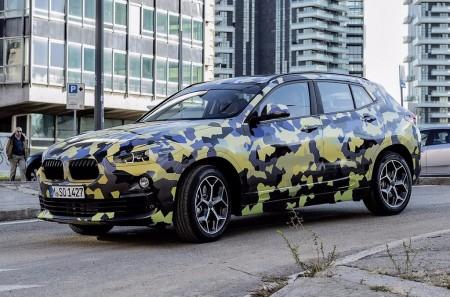 El BMW X2 «lucirá» su camuflaje en la Semana de la Moda de Milán