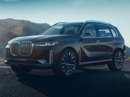 Filtrado el BMW X7 Concept, un anticipo del nuevo SUV de lujo que se avecina