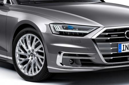 Faros Audi HD Matrix LED: así es la avanzada iluminación del A8