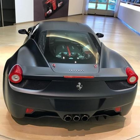 Aparecen nuevos datos del misterioso Ferrari 458 con motor V12
