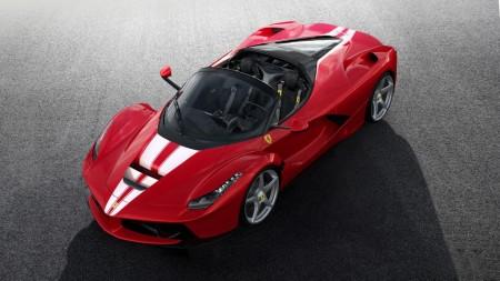 Desvelado el último Ferrari LaFerrari Aperta antes de ser subastado